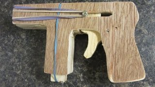 How To Make A Wooden Gun