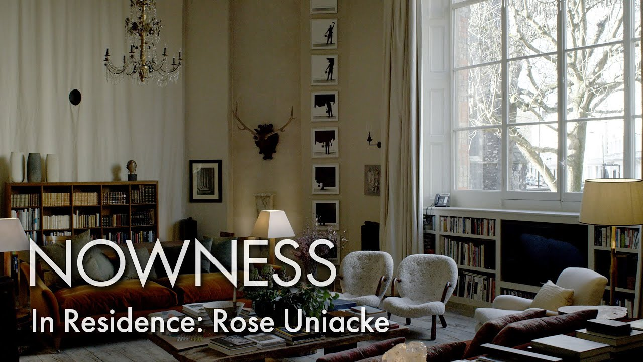 In residence rose uniacke inside the interior designers for Interior decorator london