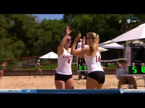 UCLA at Stanford - NCAA Women's Beach Volleyball (April 8th 2018)