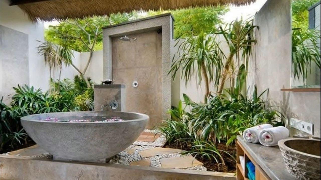 Interior Design 45 Jungle Bathroom