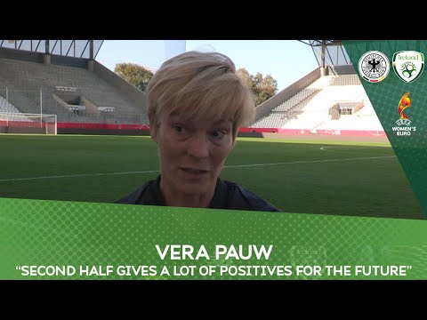 "POST MATCH INTERVIEW | Vera Pauw | ""Second half gives a lot of positives for the future"""