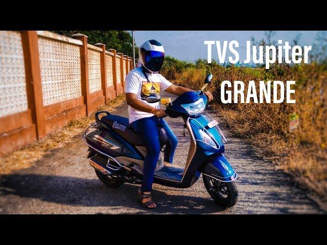 2018 TVS Jupiter Grande Disc Edition Hindi Full Review