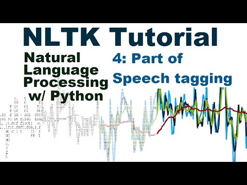 Part of Speech Tagging – Natural Language Processing With Python and NLTK p.4