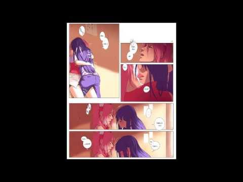 Sakura and Hinata Yuri Comic