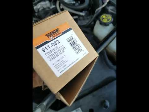 P0496 2016 Impala limited purge valve replacement