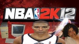 NBA 2K12 Vs Pc Vieja, Un cantante Frustrado D: ?