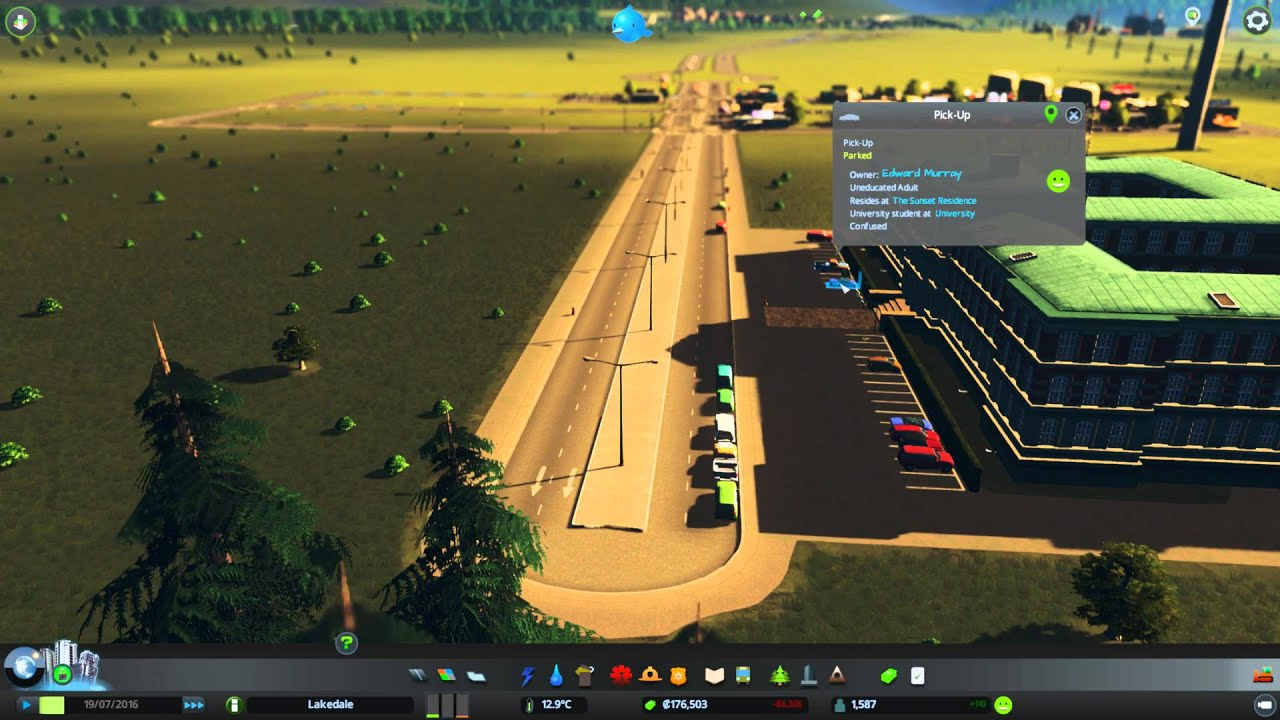 Simcity: Skylines - Cim agents are confused