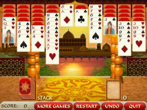Bombay Solitaire gameplay video