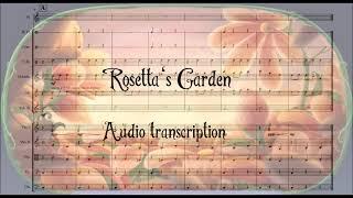 Pixie Hollow Online Game; Rosetta's Garden -- audio transcription