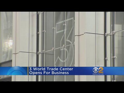 Three World Trade Center Opens In Lower Manhattan