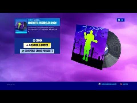 Música Fortnite: Pesadelos
