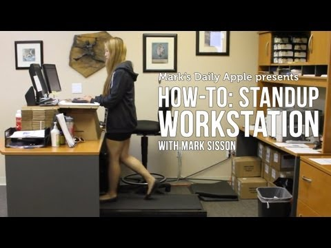 How-To: Standup Workstation With Mark Sisson