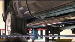 """Spyder Auto Installation: 1999-2013 Chevrolet Silverado/GMC Sierra Extended Cab 4"""" Oval Step Bars"""