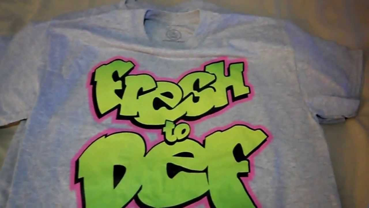 02b1346c1a5 NIKE AIR JORDAN 5 V FRESH PRINCE SHIRT T-SHIRT SNEAKER TEES DOERNBECHER 5 V  - YouTube