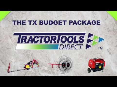 The TX Budget Hay Baling Package at Tractor Tools Direct