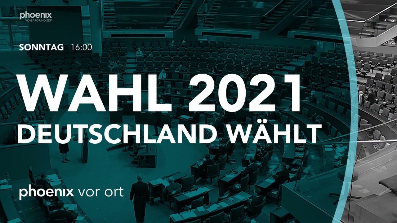 Wahl 10   Deutschland wählt phoenix Wahlsendung am So., 10.10.10 ab 10  Uhr