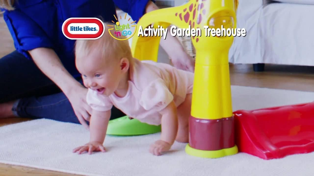Little Tikes Light N Go Activity Garden Treehouse 30 Commercial Youtube