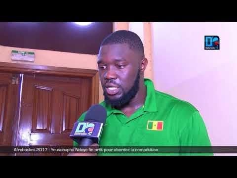 Afrobasket 2017 : Youssoupha Ndoye fin prêt pour aborder la compétition