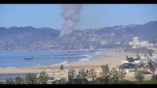 Pacific Palisades fire in Los Angeles