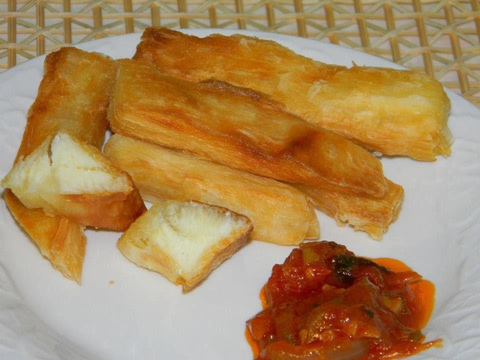 Recette de cuisine : Frites de manioc   How to make cava fries ... on
