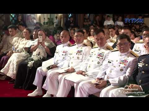 Oathtaking of Newly-Appointed Generals and Flag Officers (Speech) 12/6/2017