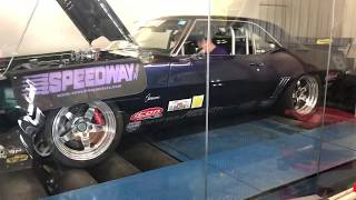 Camaro doing work on the dyno!