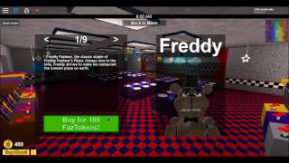 ROBLOX the pizzarea roleplay part 1 acting like funtime freddy