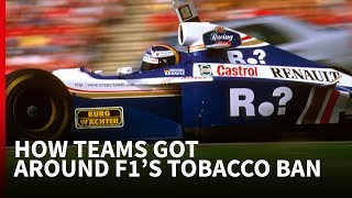 7 ways F1 teams covered up tobacco advertising