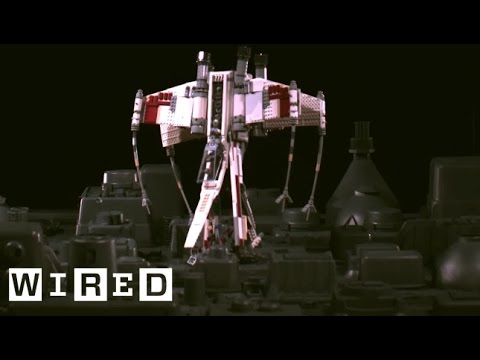 Behind the Scenes: Star Wars Lego X-Wing Fighter vs. Death Star