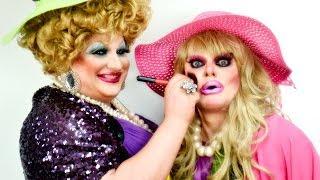 Маланка Шоу та Джина Смайл #8 DRAG TRANSFORMATION Make Up