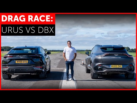 DRAG RACE. Aston Martin DBX vs Lamborghini Urus. FASTEST SUV IN THE WORLD?