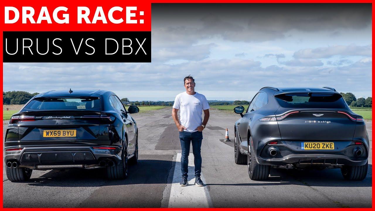 Can The Aston Martin Dbx Beat The Lamborghini Urus In A Quarter Mile Sprint Carscoops