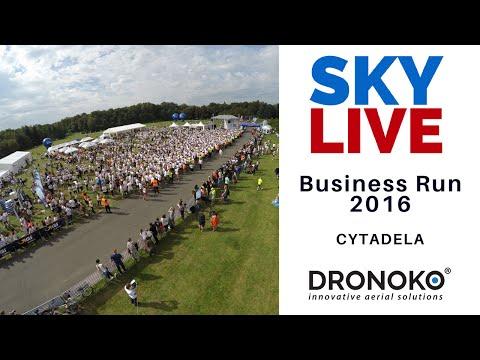 Poznań Business Run okiem drona - Dronoko SkyLive