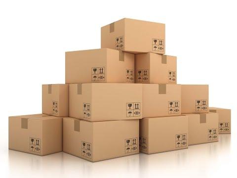 Цилиндрические картонные коробки (тубусы)
