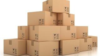 видео производство картонной упаковки макулатура