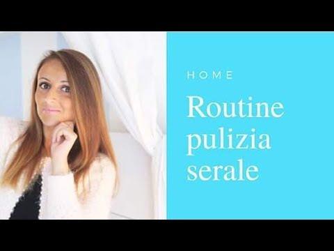 LA MIA ROUTINE DI PULIZIA SERALE || Il Cuore di Violet ...