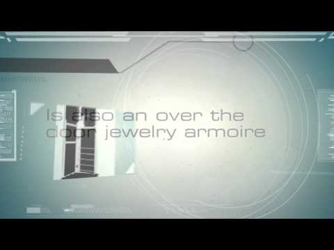 Jewelry Armoire Locking Keep Jewelry And Valuable Safe & Secure - How to