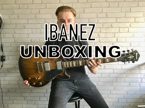 UNBOXING! Ibanez Semi-hollow Artcore AMV + REVIEW and DEMO