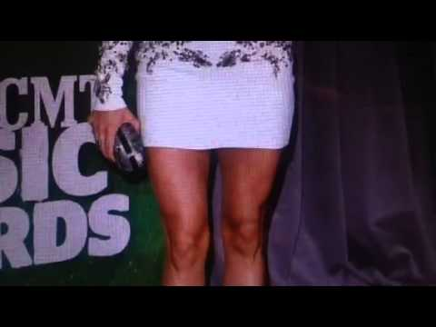 Carrie Underwood Hot Body At CMT Awards After Baby
