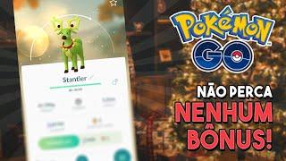 MEGA EVENTO de NATAL e ANO NOVO no Pokémon GO! Saiba tudo!