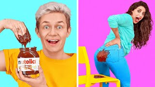 CRAZIEST PRANKS EVER! PRANK YOUR FRIEND AND FAMILY || Funny DIY Tricks by 123 GO!
