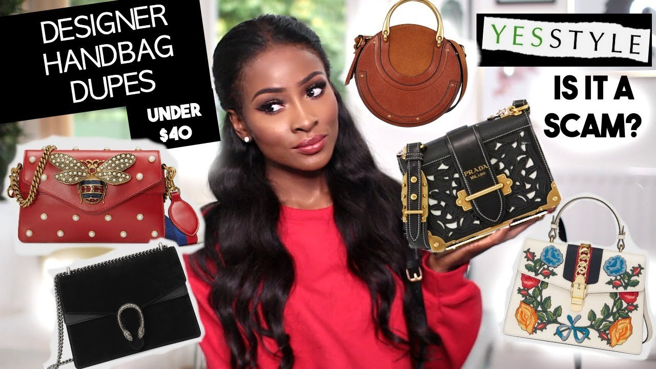 a017388ca3e0dd THE BEST DESIGNER HANDBAG DUPES UNDER $40!! - YouTube