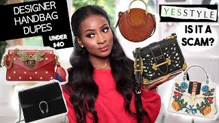Zapętlaj THE BEST DESIGNER HANDBAG DUPES UNDER $40!! | Jennie Jenkins