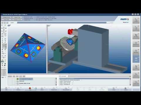 NUM Flexium 3D Simulation Software Using RTCP