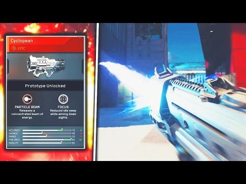 "*NEW* EPIC SMG is a LASER GUN on Infinite Warfare! ""ERAD Cyclopean"" NEW EPIC WEAPON! (COD IW)"