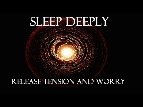 Guided meditation for releasing negativity, sleep and deep relaxation