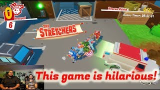 Let's play The Stretchers (and laugh A LOT) for Nintendo Switch (Game Night)