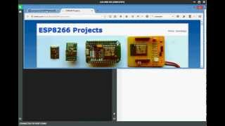 Overview for WebEditor for ESP8266 with NodeMCU
