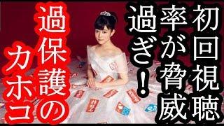 12日に放送された女優・高畑充希(25)主演日本テレビ系ドラマ 「過...
