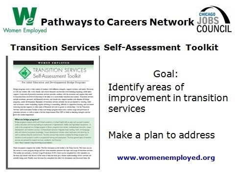 Webinar: Tools you can use: improving adult student transitions into college and careers, 4-12-12